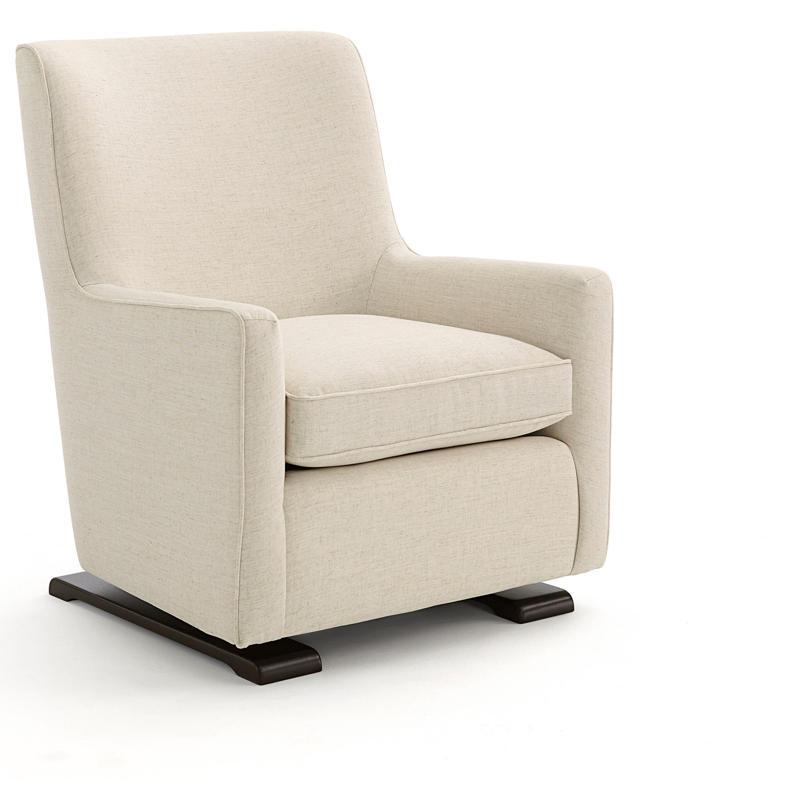 cheap glider chair pictures of barber chairs best home furnishings coral 2237 contemporary swivel gliding with wood runners dunk bright furniture rockers
