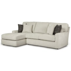 Best Built Sofa Beds Sater Dimensions Home Furnishings Dovely Casual 2 Piece Sectional With In Usb Port And Laf Chaise