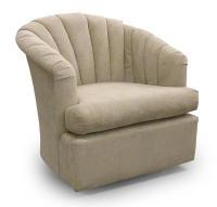Best Home Furnishings Chairs - Best Attica Swivel Barrel ...