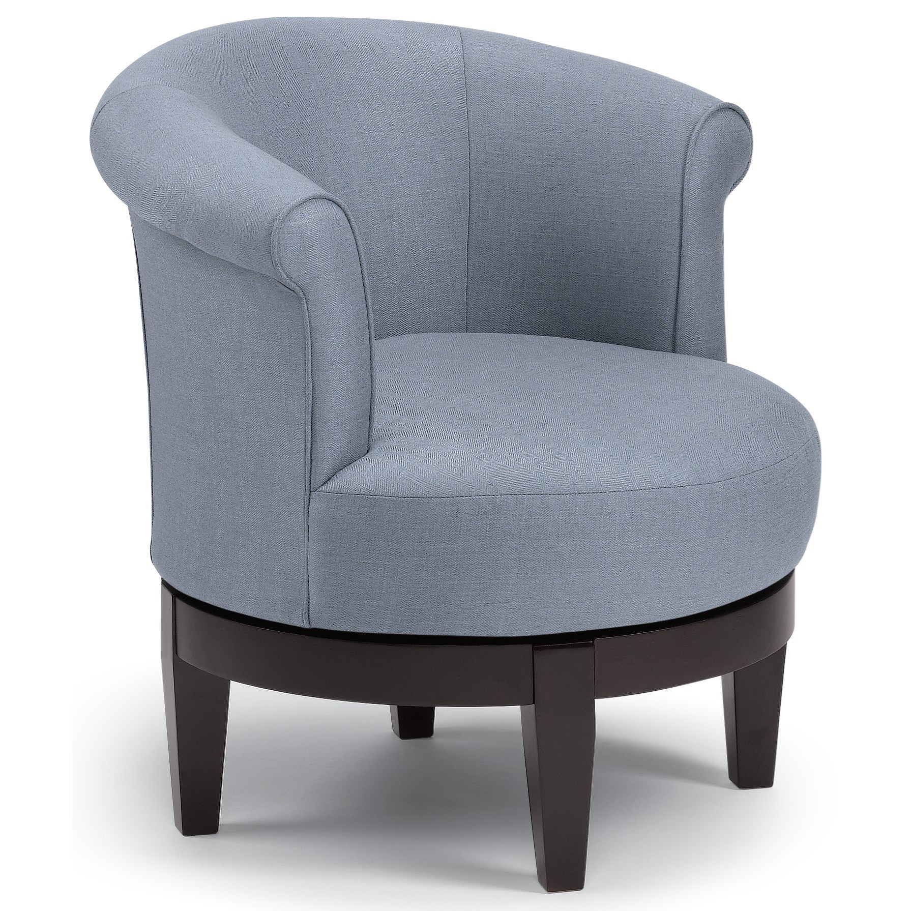 barrel swivel chairs upholstered ultra comfort lift chair best home furnishings chic attica with traditional rolled back