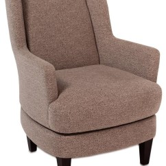 Comfortable Swivel Chair Cheap Covers Under 1 Violet Casual Wing Back W Wood Legs Rotmans