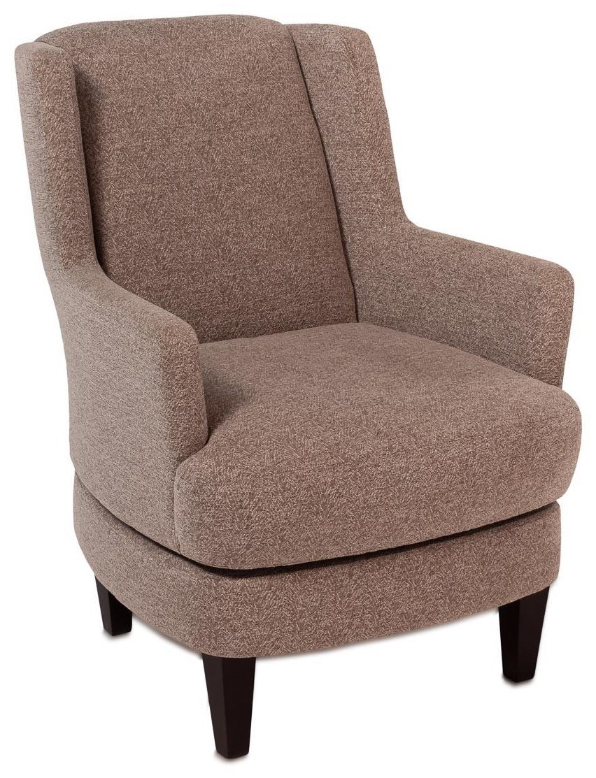 Wingback Recliner Chair Violet Casual Wing Back Swivel Chair W Wood Legs By Best Home Furnishings At Rotmans