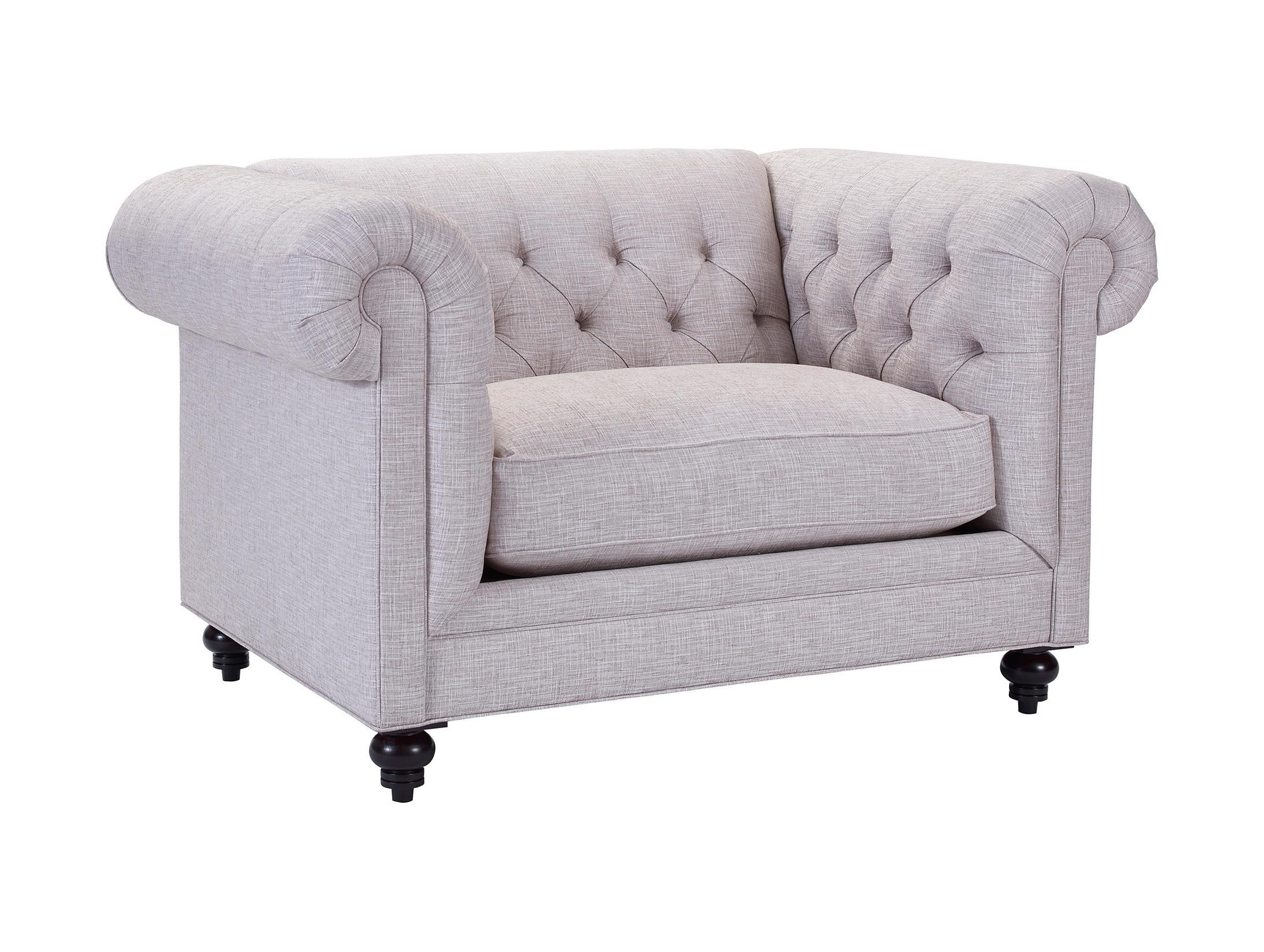 chair and a half sleeper carolina panthers gaming broyhill furniture heath traditional chesterfield 1 2 heathchair