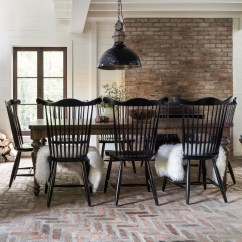 Farmhouse Table And Chairs With Bench Baby High Canadel Chic Customizable Dining Set Darvin Chiccustomizable