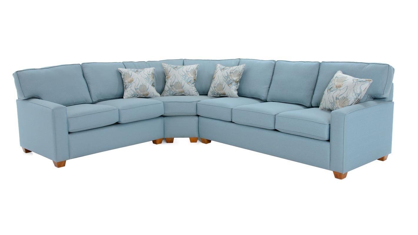 Capris Sofa Capris Furniture 752 Q752gw Queen Sleeper Sofa With Accent Pillows TheSofa