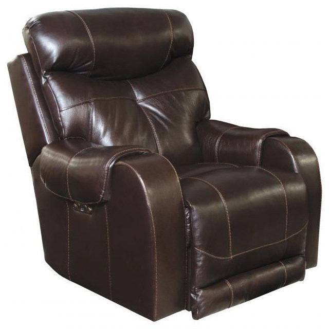lay flat recliner chairs high backed with arms catnapper motion and recliners 764769 7 venice power headrest lumbar gill brothers furniture three way