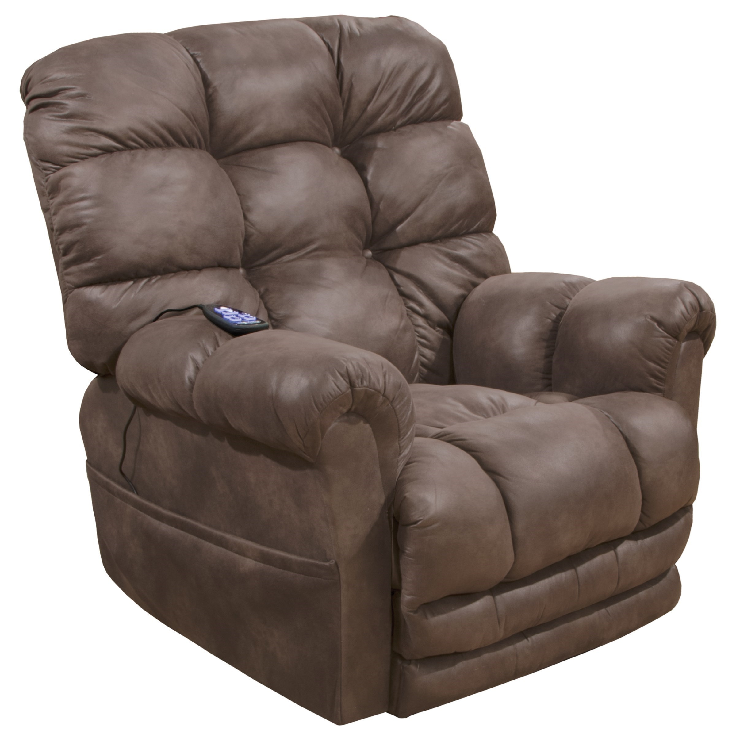recliner vs chair with ottoman beach lounge chairs target catnapper oliver casual power lift extended