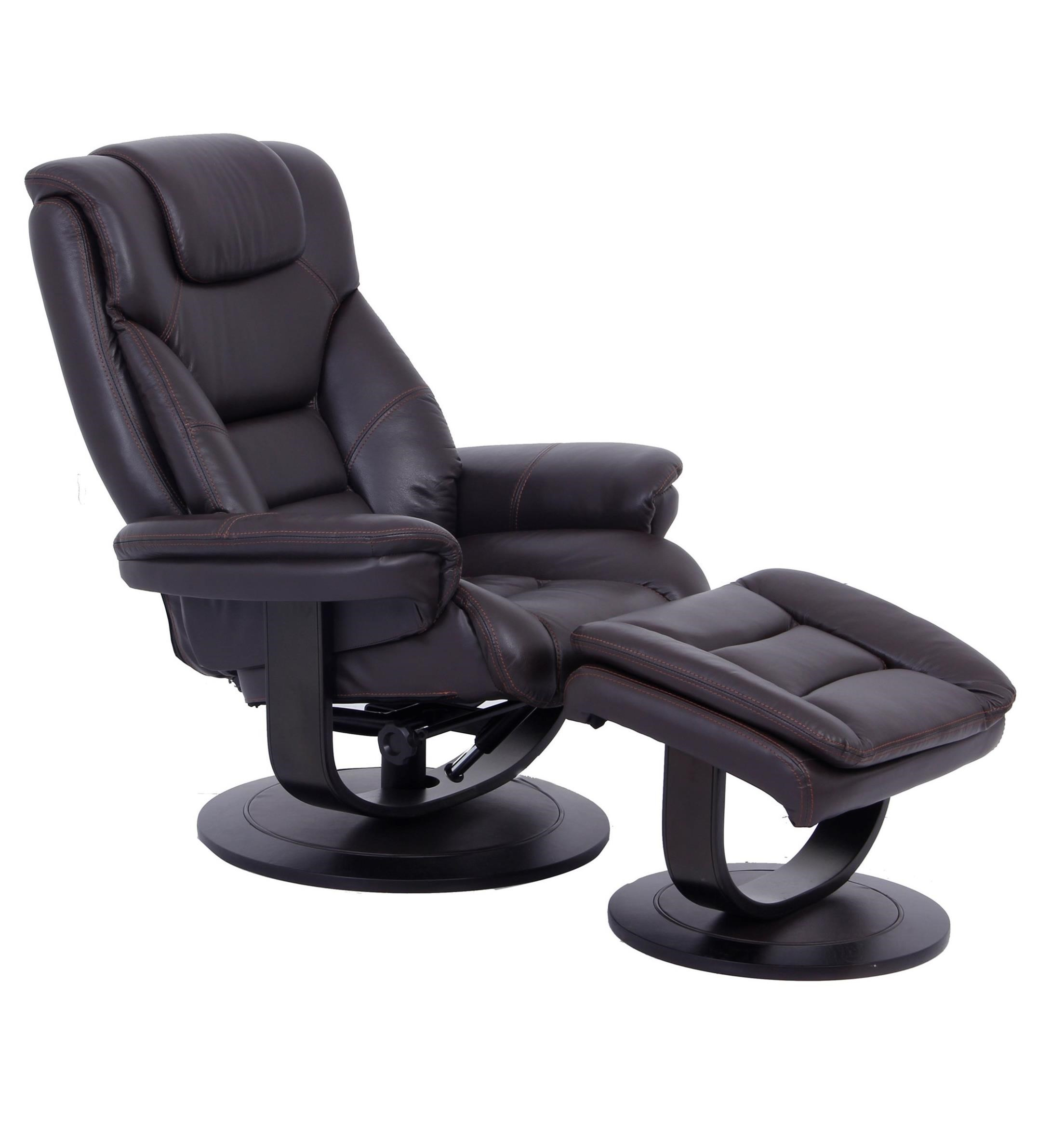 Swivel Recliner Chairs K827 Pushback Reclining Swivel Chair And Ottoman By Cheers Sofa At Dunk Bright Furniture