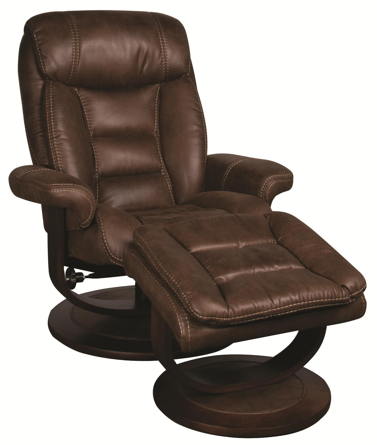 reclining chair with ottoman leather linen covers for sale manuel swivel recliner morris home