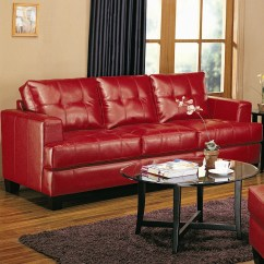 Contemporary Leather Sofa Bed Mart Sectional Coaster Samuel Value City Furniture Sofas By