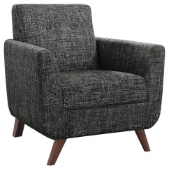 Contemporary Accent Chair Ergo Ball Coaster Seating 903134 Mid Century Modern With Angled Legs Dunk Bright Furniture Upholstered Chairs