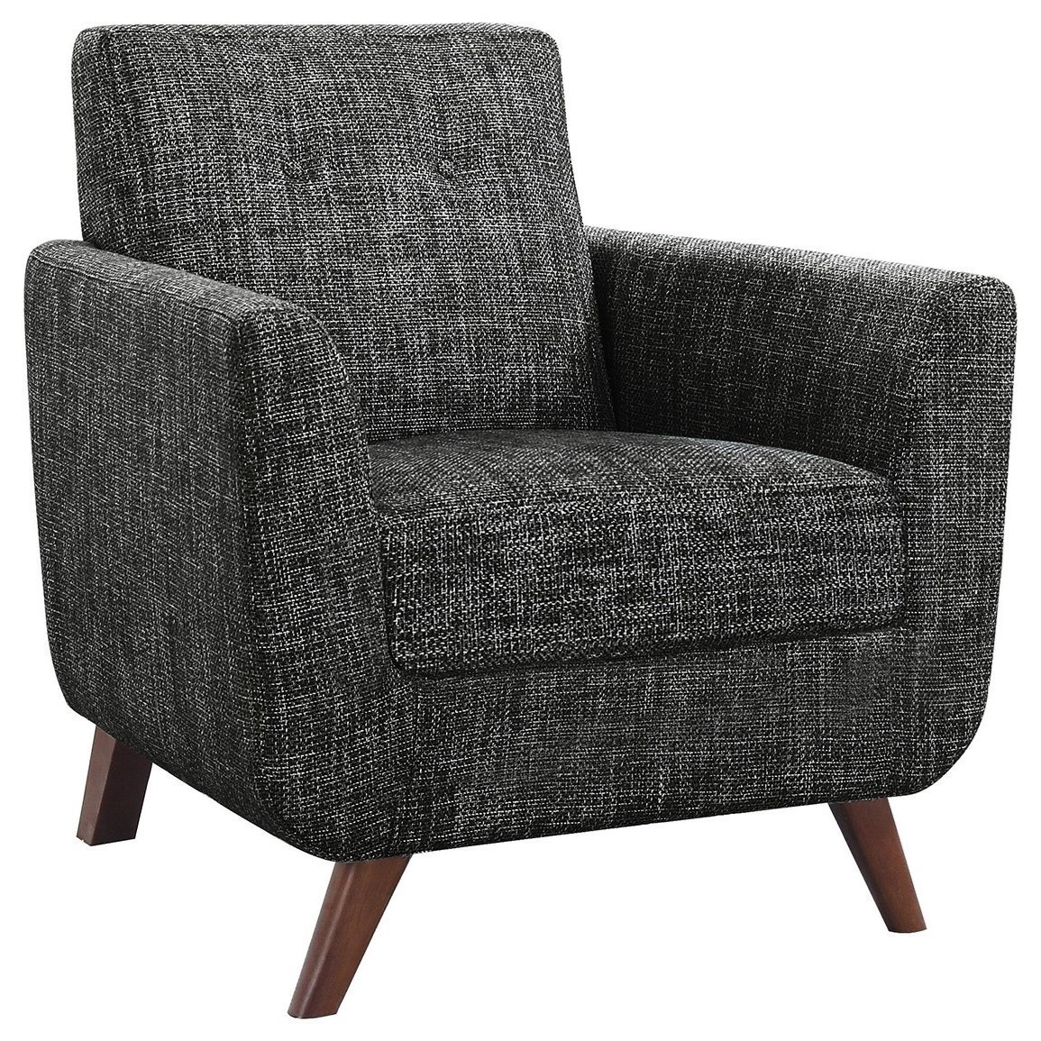 modern accent chairs beach on sale at walmart coaster seating 903134 mid century chair with angled legs dunk bright furniture upholstered