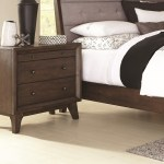 Coaster Bingham B259 02 3 Drawer Night Stand With Top Felt
