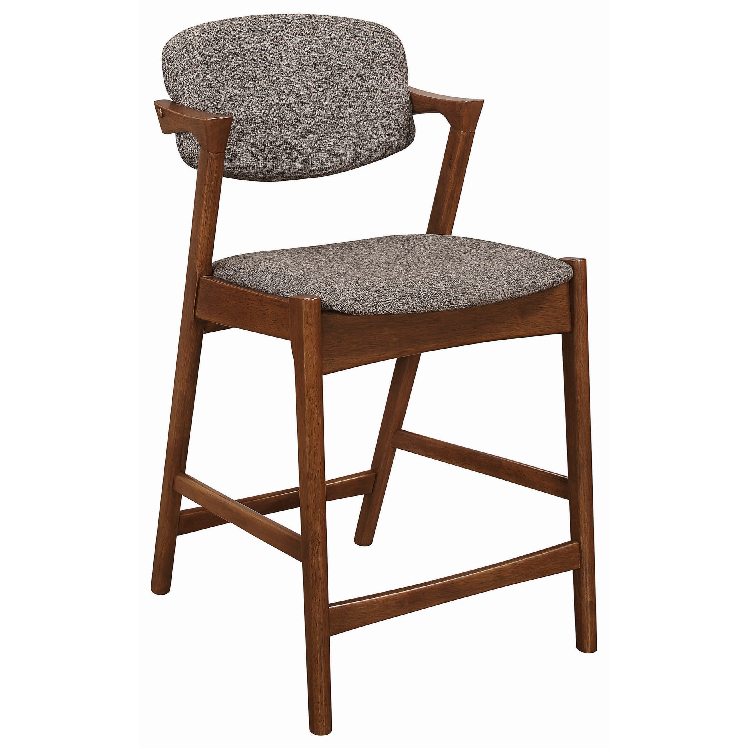 upholstered counter height chair toddler plastic chairs coaster dining and bar stools 100708 mid century modern stool dunk bright furniture