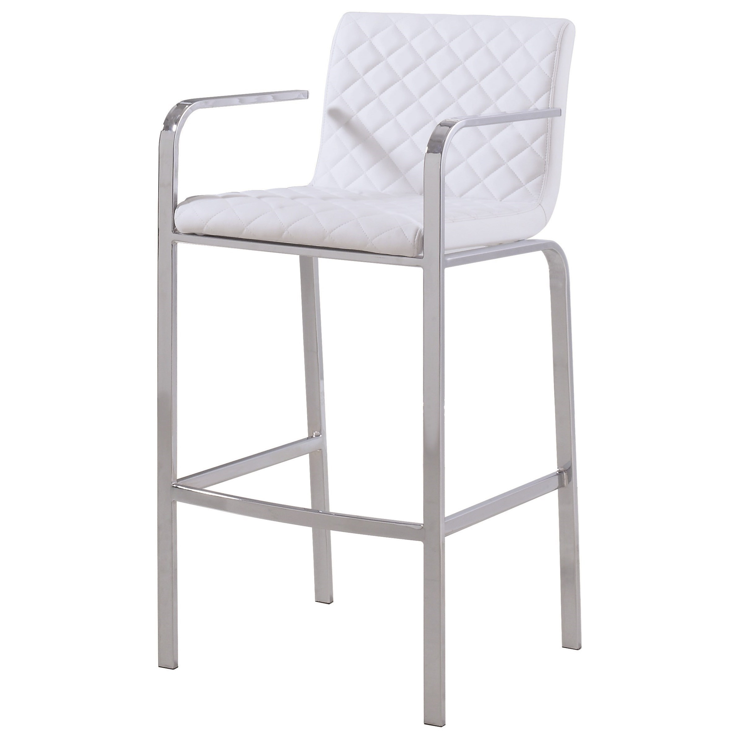 Upholstered Bar Chairs Dining Chairs And Bar Stools Contemporary Bar Stool With Quilted Upholstery By Coaster At Lapeer Furniture Mattress Center