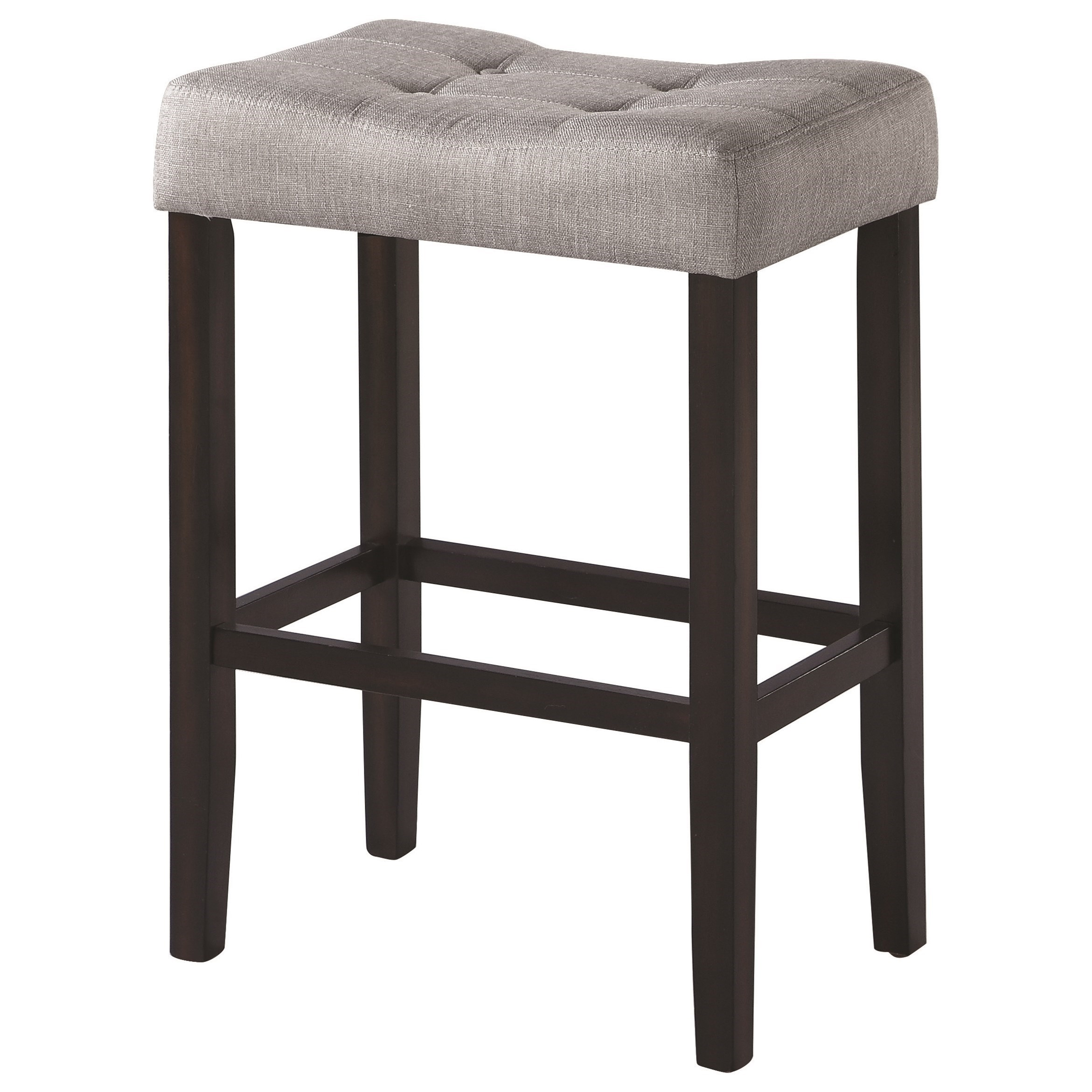 Upholstered Bar Chairs Dining Chairs And Bar Stools Upholstered Backless Bar Stool By Coaster At Value City Furniture
