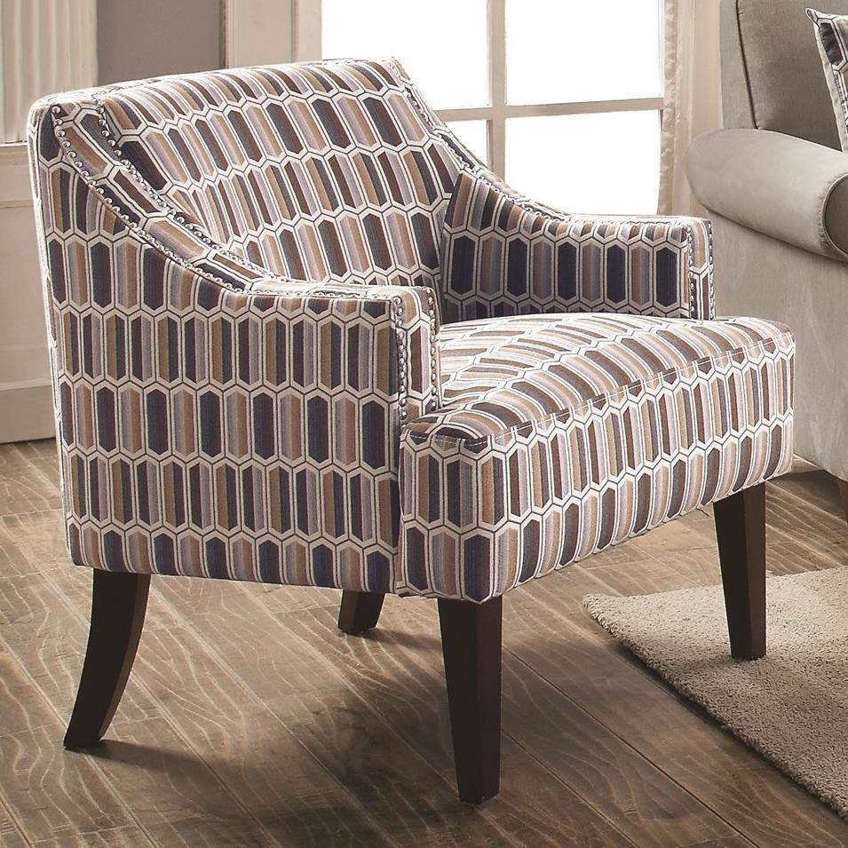 Coaster Accent Chair Gideon By Coaster Casual Accent Chair By Coaster At Value City Furniture