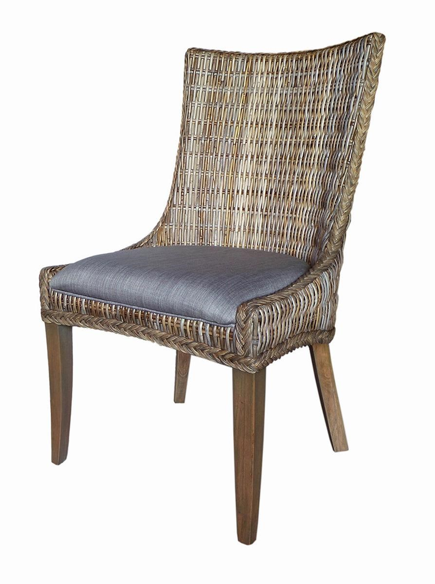 Woven Dining Chair Matisse Country Cottage Woven Dining Chair With Cushioned Seat By Coaster At Value City Furniture