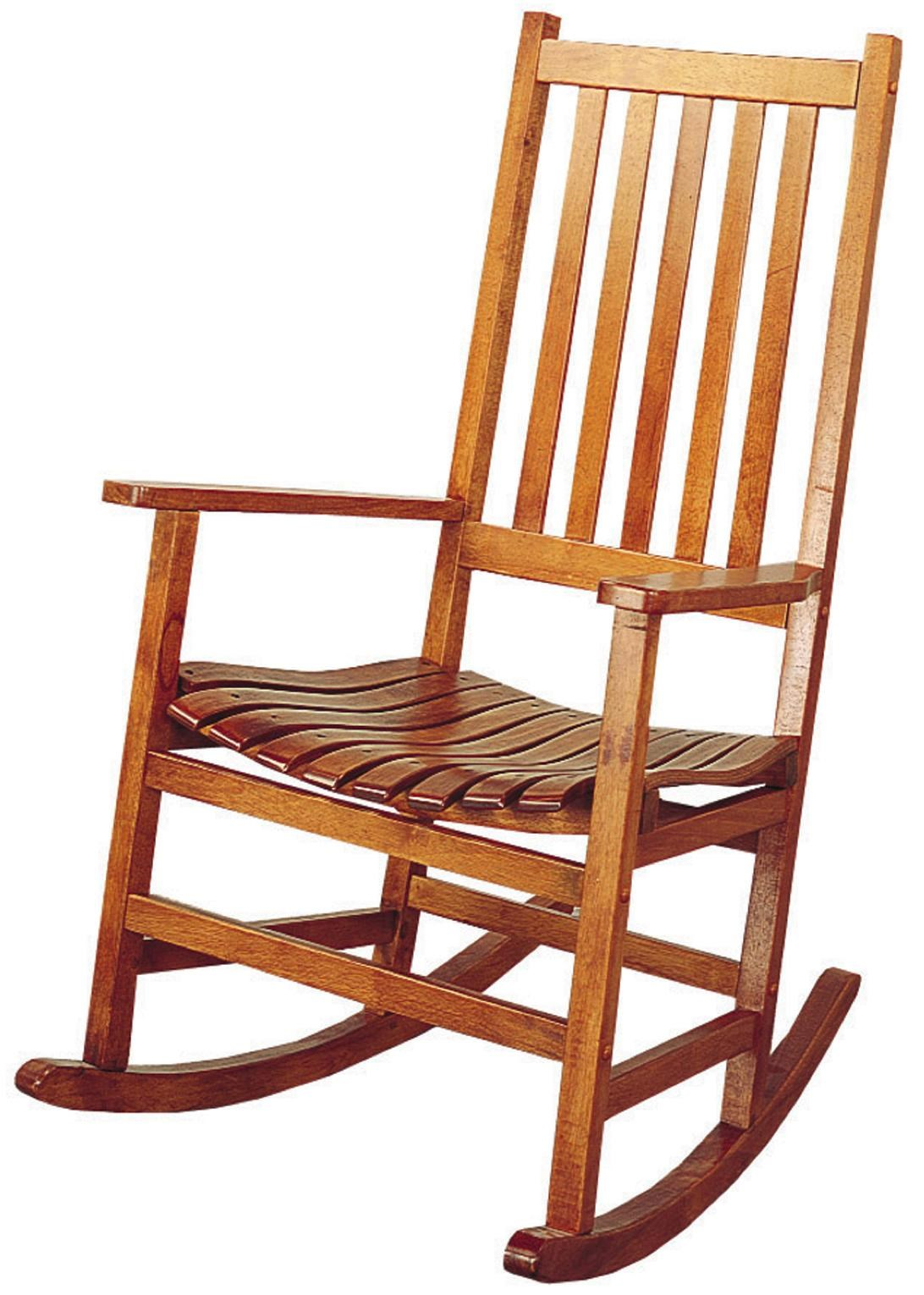rocking chair rockers hanging room coaster casual traditional wood rocker value city by