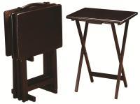 Coaster Tray Tables 901081 5 Piece Tray Table Set ...