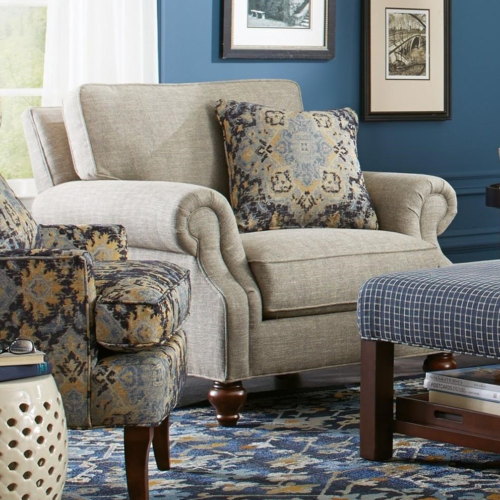 craftmaster chair and a half eco posture 7623 traditional colder s furniture by