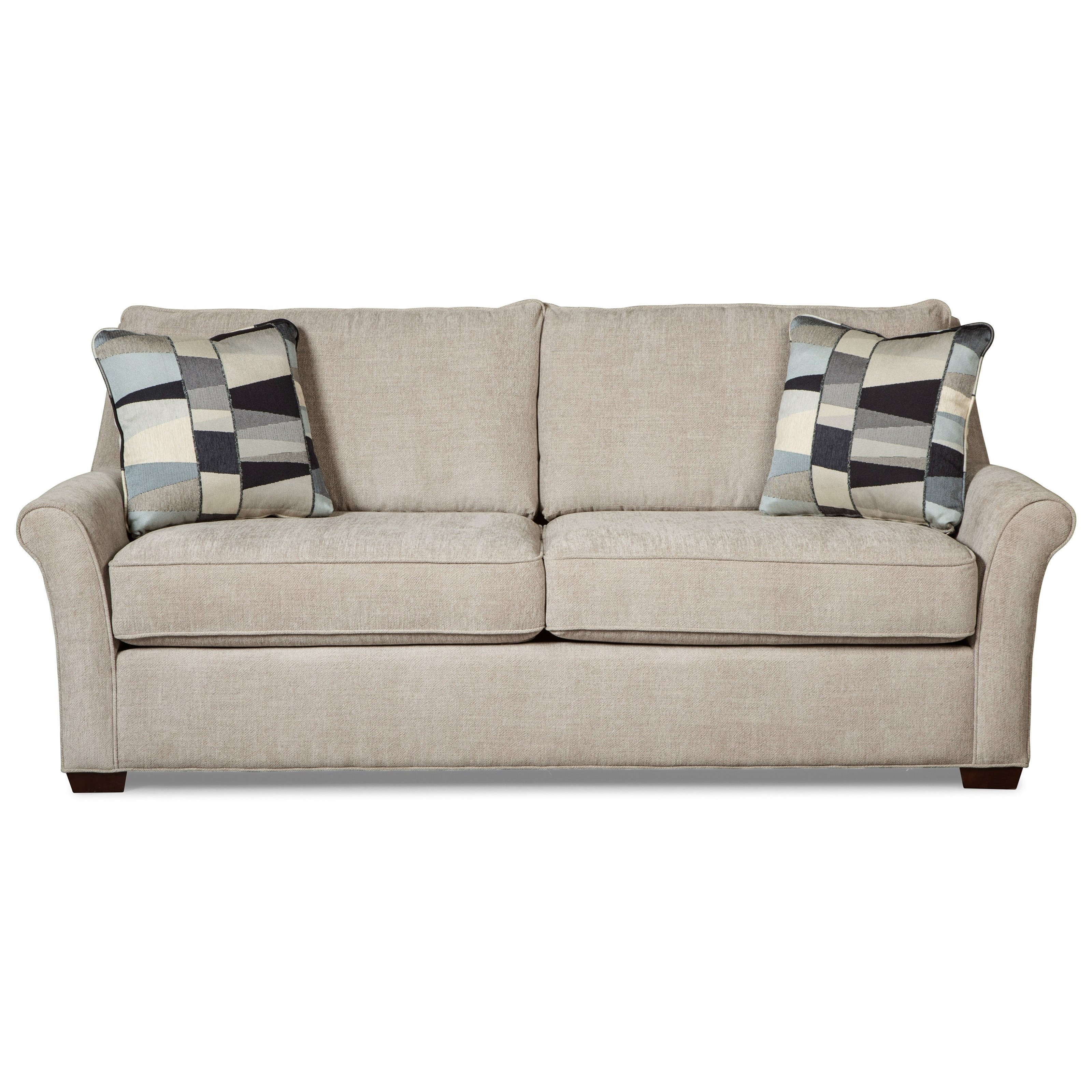 sofa bed with innerspring mattress redwood city ca craftmaster 7686 transitional queen sleeper