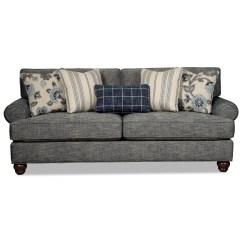 Queen Sleeper Sofa Memory Foam Mattress Paula Deen Collection Craftmaster 773550 Traditional With And 773550queen