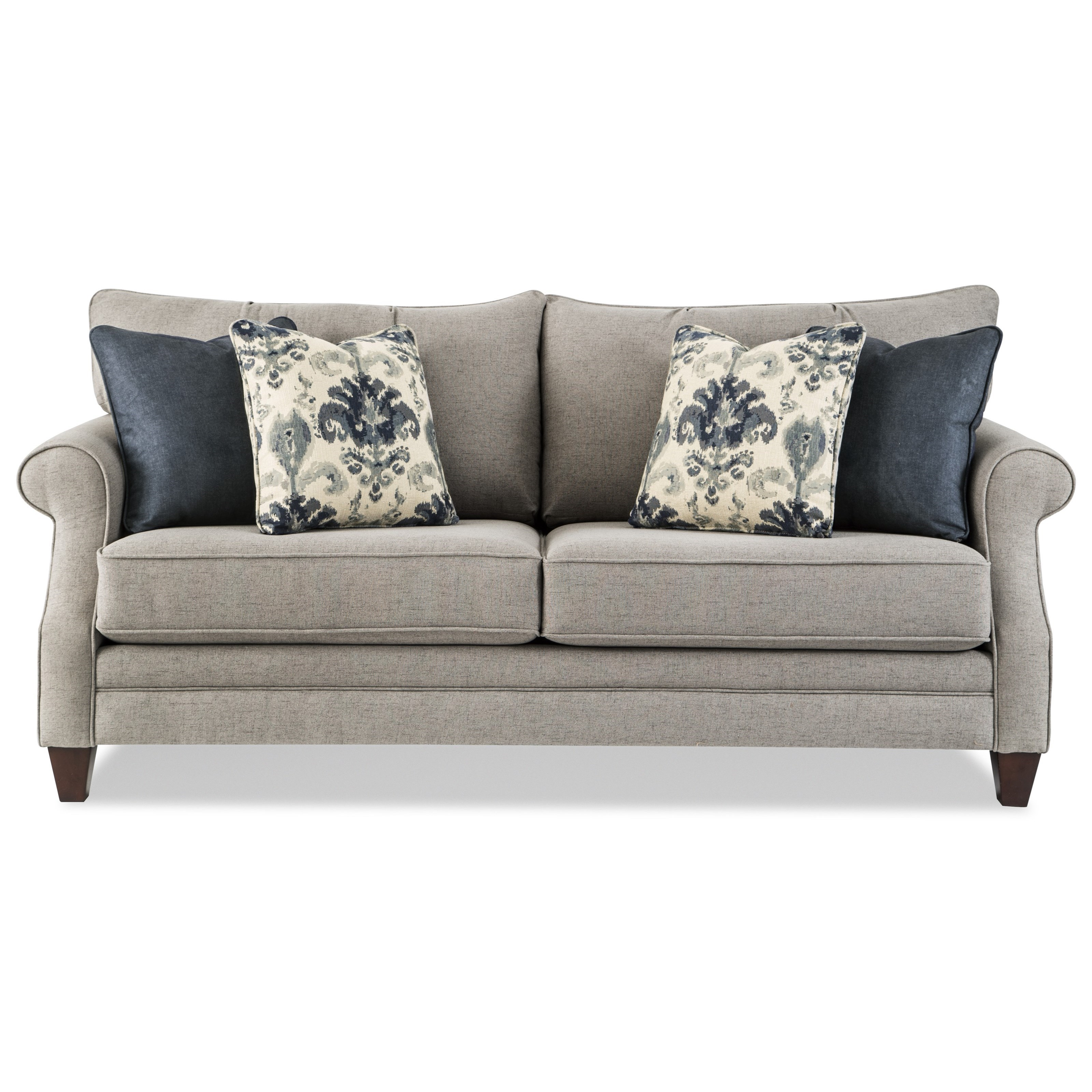 queen sleeper sofa memory foam mattress lay down craftmaster 776850 98 transitional with 776850queen