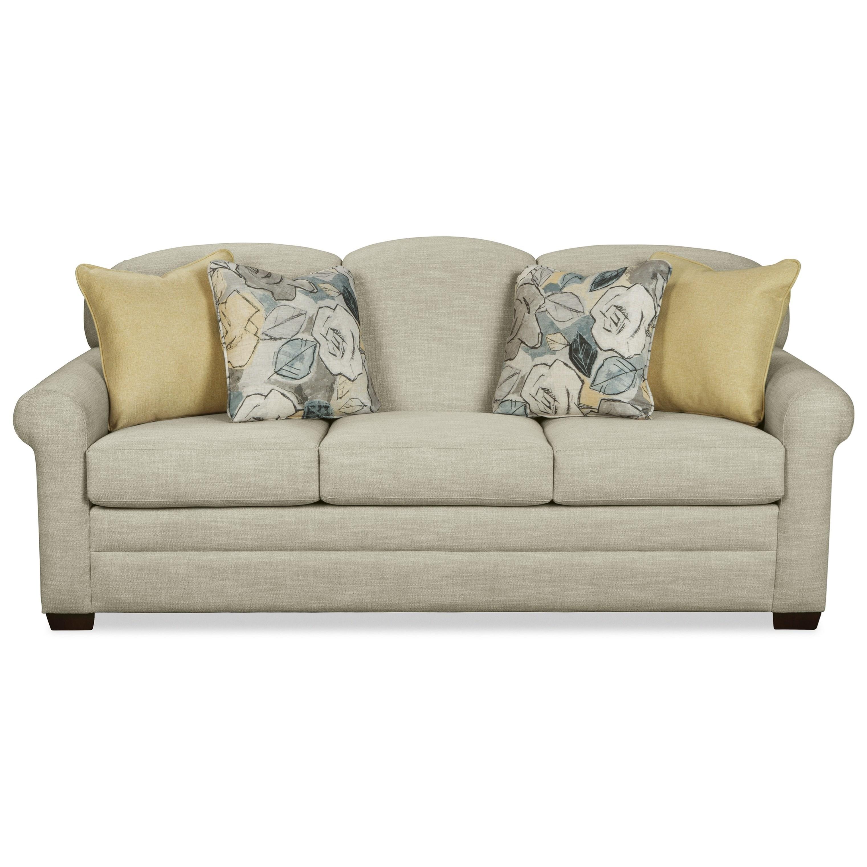 queen sleeper sofa memory foam mattress ikea chaise hickorycraft 778450 camelback with memoryfoam