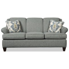 Sofa Bed With Innerspring Mattress Bristol Bay Sectional Craftmaster 781850 Transitional 73 Inch Sleeper Full
