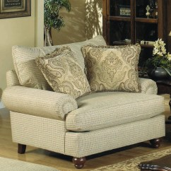 Craftmaster Chair And A Half Armless Chairs For Living Room 7970 Traditional With Exposed Wood Feet Darvin 7970chair