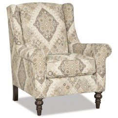 Accent Wingback Chairs Wenger Posture Chair Craftmaster Wing Back With Traditional Turned Legs
