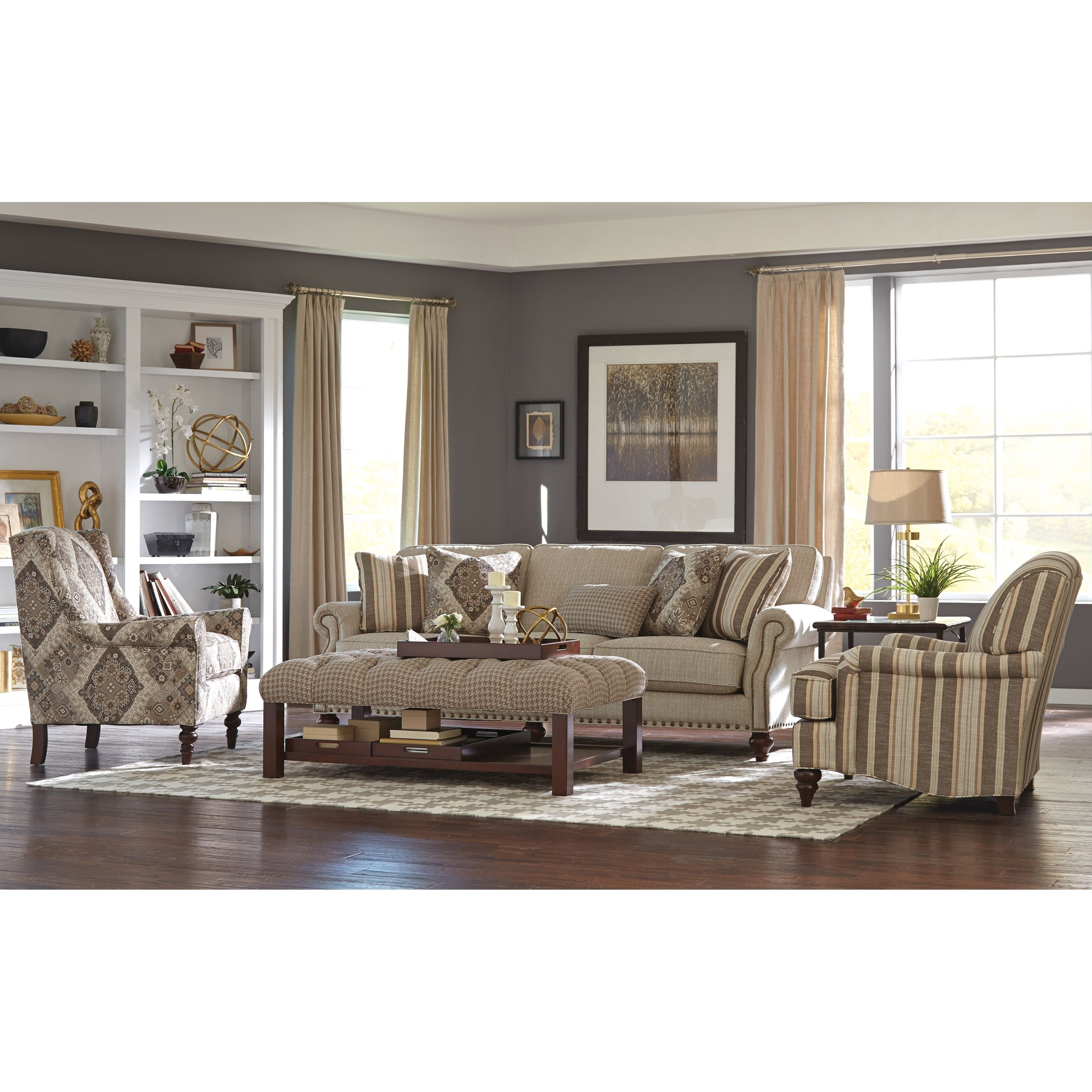 craftmaster chair and a half nc state bean bag accent chairs 058710 wing back with traditional chairschair
