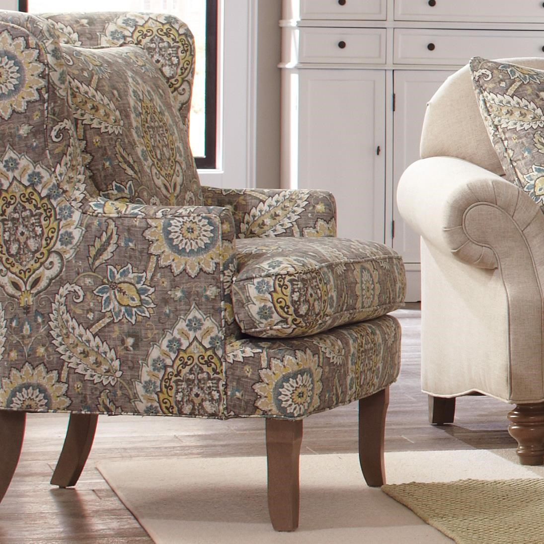 craftmaster chair and a half loveseat camping accent chairs 085010 traditional upholstered wing chairstraditional
