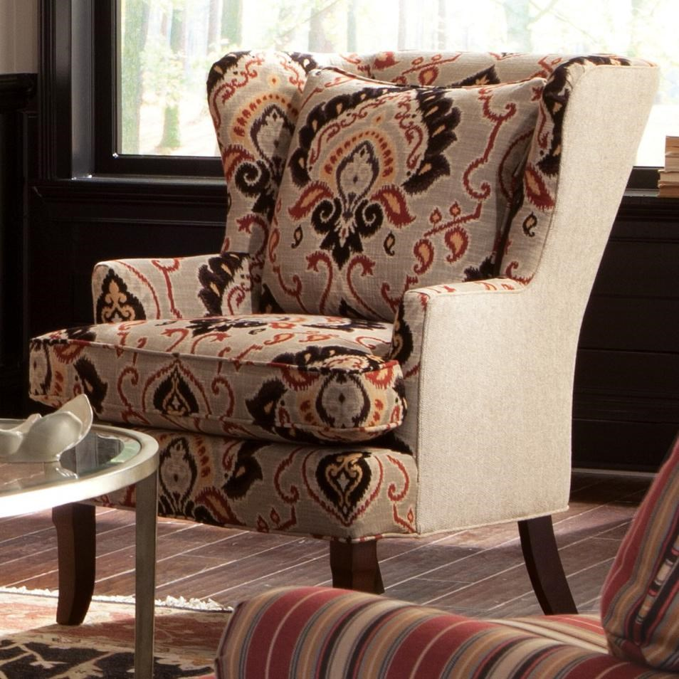 wing chairs for living room kelsyus backpack chair craftmaster accent 085010 traditional upholstered chairstraditional