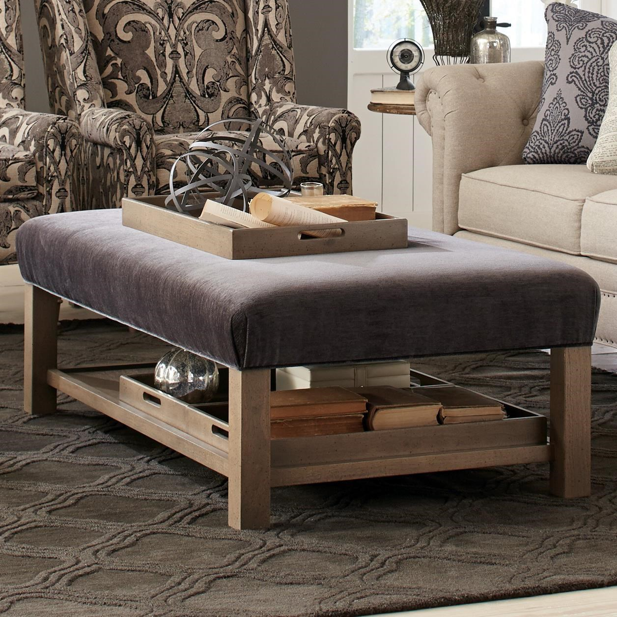 craftmaster living room furniture how to arrange around tv accent ottomans contemporary storage bench ...
