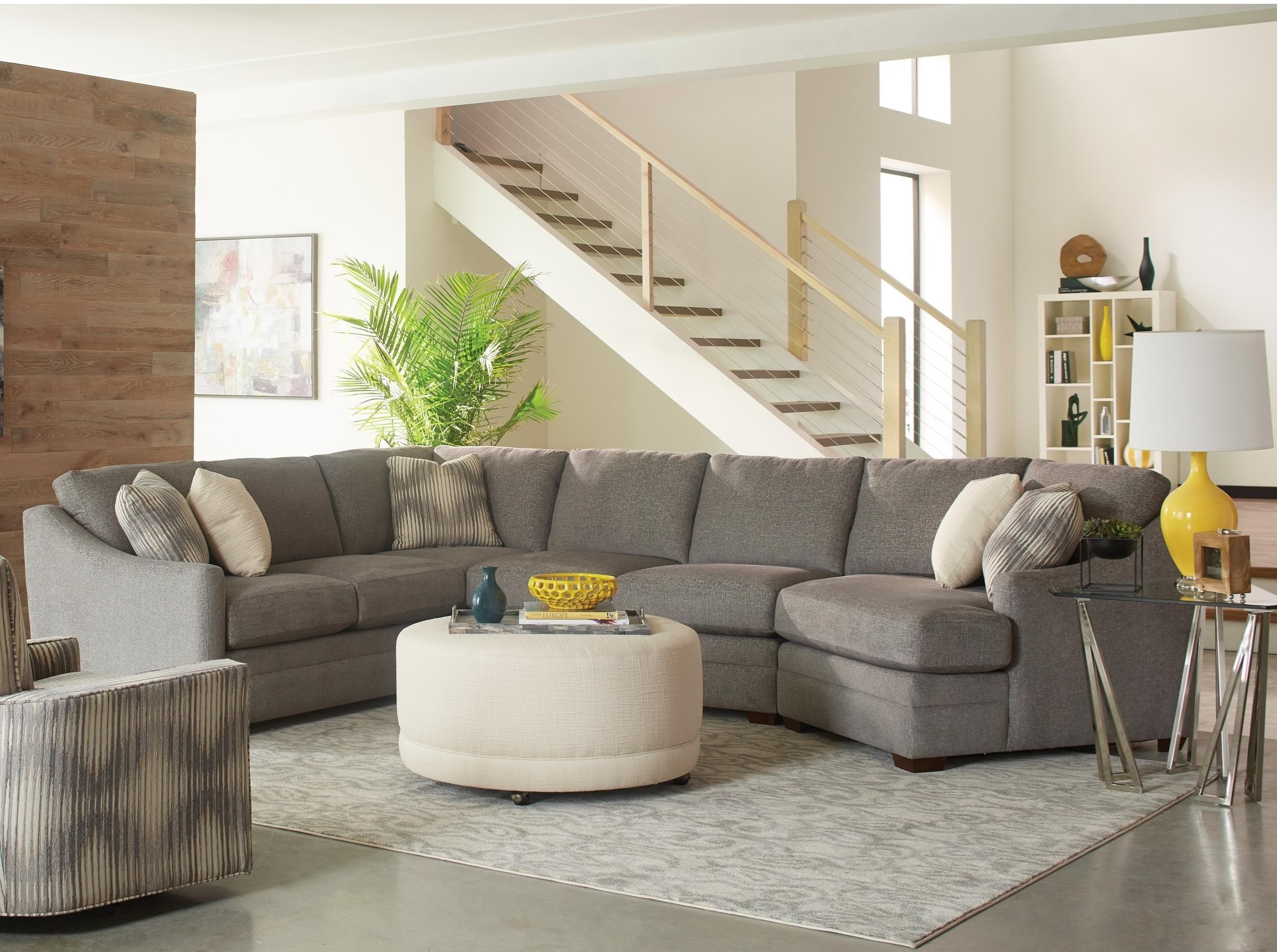customize your sectional sofa buy single bed f9 custom collection customizable three piece with track arms and semi attached backs