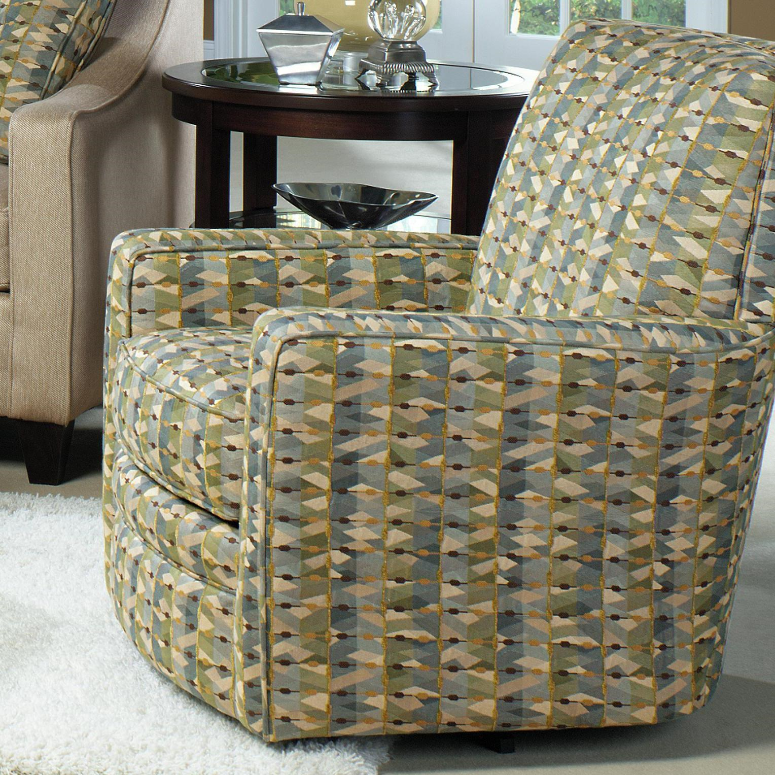 swivel upholstered chairs farmhouse table with craftmaster contemporary glider track arms