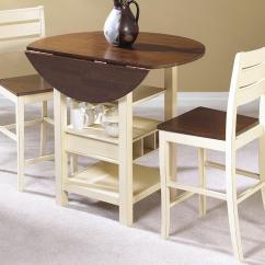 Drop Leaf Kitchen Tables For Small Spaces Antique Island Cramco, Inc Cascade 3 Piece Pub Set - Value City Furniture ...