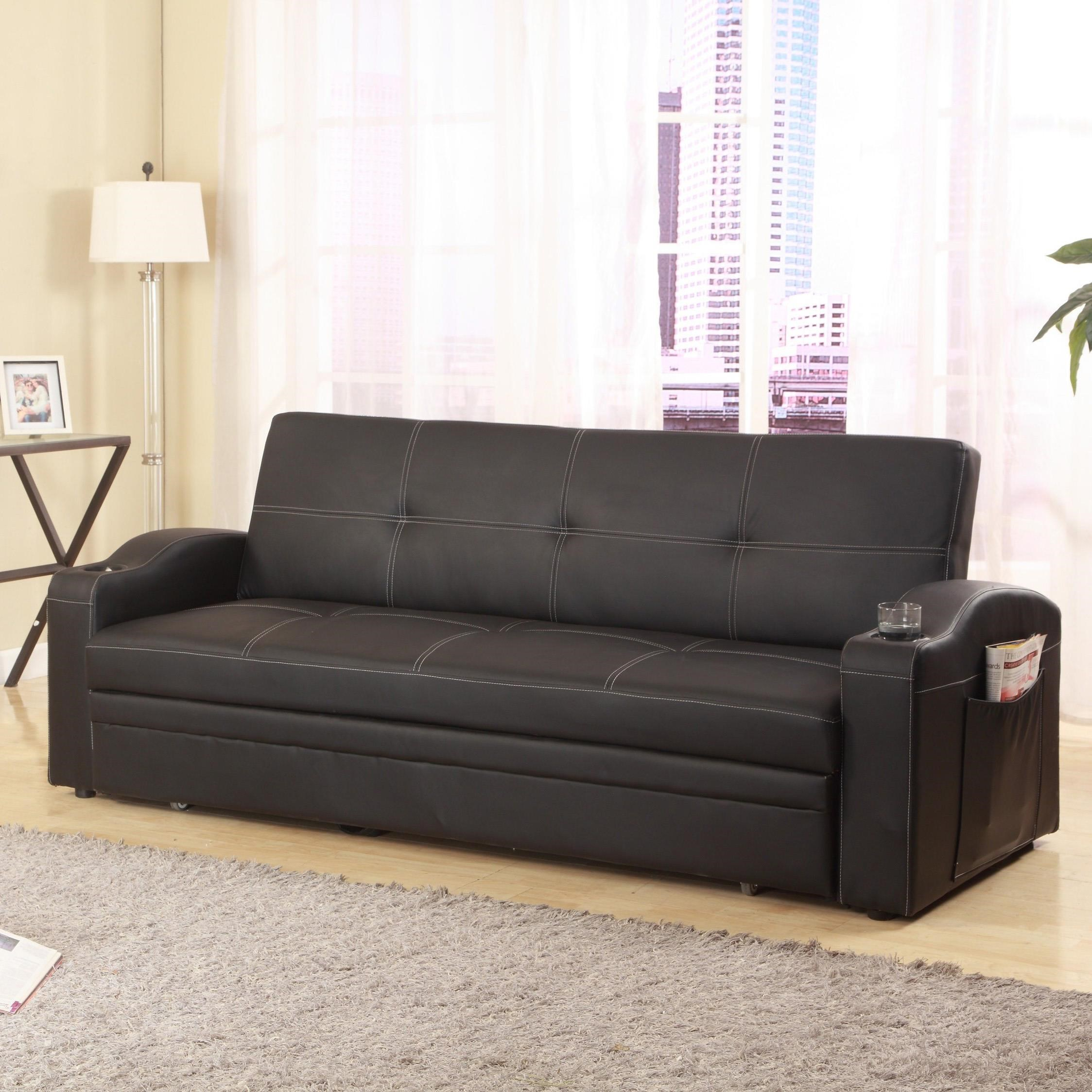 easton adjustable sofa with cup holders
