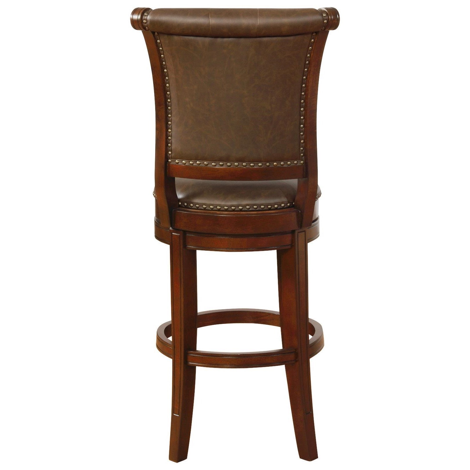 Swivel Bar Chairs Bar Stools Cm Traditional Swivel Bar Stool With Button Tufting By Crown Mark At Household Furniture