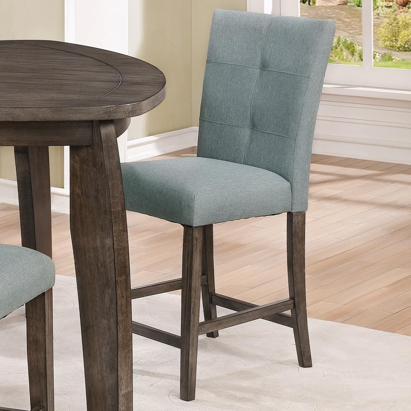 upholstered counter height chairs metal chair rail molding crown mark hollis bullard furniture bar stools fayetteville nc