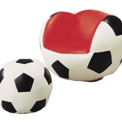 Kids Sports Chairs Cuddler Chair Canada Crown Mark Sport Soccer Swivel Ottoman Royal Chairssoccer