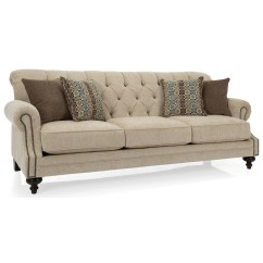 Moss Studio Sofa Reviews Havertys Leather Sectional Decor Rest 2133 Traditional Tufted Back With Nailhead Accents