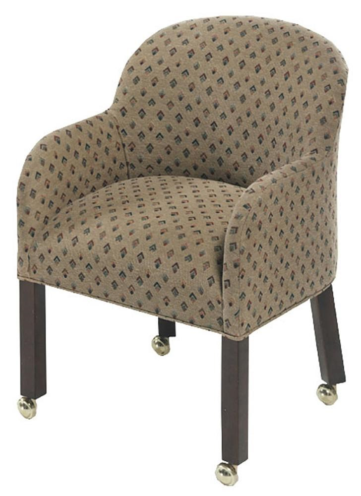 chairs on casters proper posture ball chair designmaster laurel tub wayside furniture