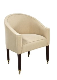 Designmaster Chairs Compton Tub Chair with Cap Casters ...