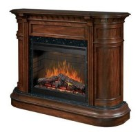 Dimplex Flat-Wall Fireplaces Carlyle Electric Fireplace ...