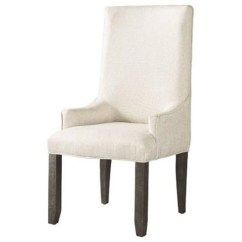 Small Arm Chair Folding Lawn Chairs With Attached Side Table Elements International Finn Upholstered Parson S