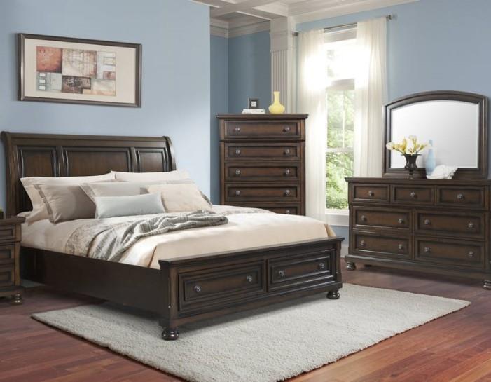 Elements Kingston Queen 5 Piece Bedroom Group Royal Furniture Bedroom Groups