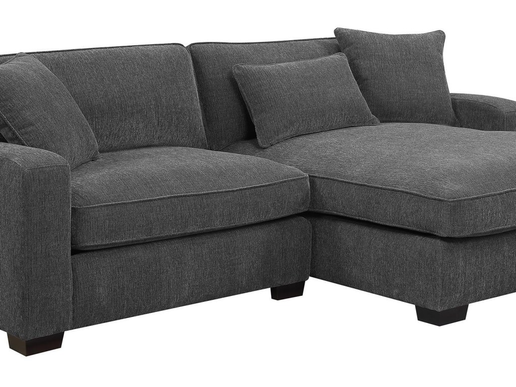 Emerald repose grp u4173m sectional charcoal 2 piece sectional sofa